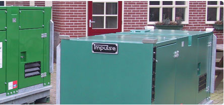 Foto mit Wasserpumpen, Impulse Project Engineering BV